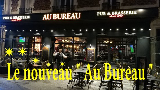 au bureau le perreux sur marne 12 place robert belvaux restaurant avis num ro de t l phone. Black Bedroom Furniture Sets. Home Design Ideas