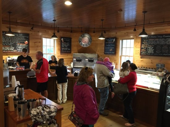 Pittsford Farms Dairy - ice cream line
