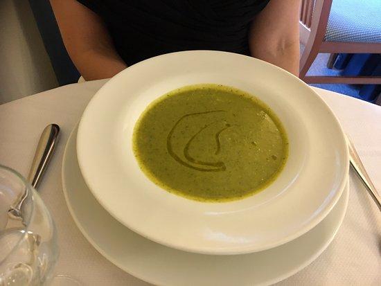 Mezzegra, Italien: Soup (second night)