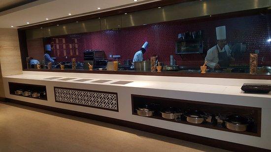 Golden Galaxy Hotels Resorts Live Kitchen Cosmo Restaurant