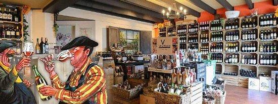 Almere, Nederland: Wijnkoperij Steinz