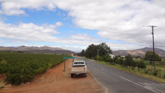 Ceres, South Africa: Travelling towards Ashton