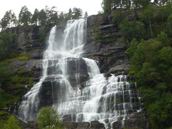 Voss Municipality, Norway: Бушующий поток...