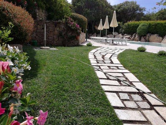 Cala di Volpe, Italien: Nuova piscina esterna