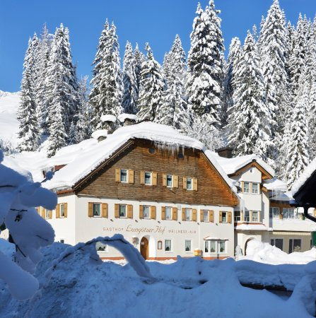 Annaberg-Lungotz, Oostenrijk: Der Lungötzer Hof im Winter