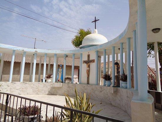 Joal Fadiouth, Sénégal : Cristo
