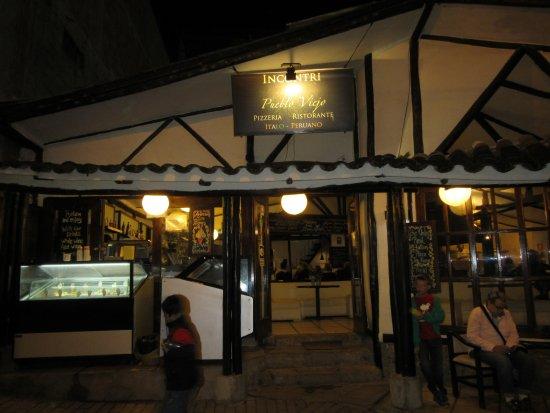 Entrance. Right on Av. Pachacutec.