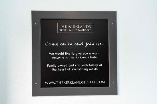 Kinross, UK: A warm welcome from The Kirklands Hotel