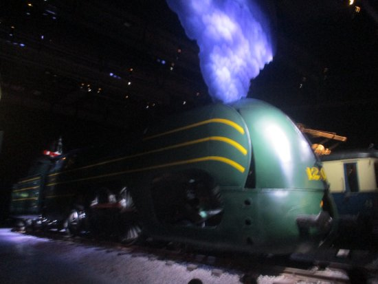 Schaerbeek, Belgium: Big Steam Train