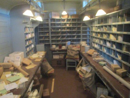 Schaerbeek, Belgium: Mail Carriage