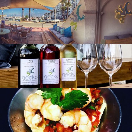 Puerto de la Duquesa, España: Excellent views with great wines and good food, serving fusion Tapas