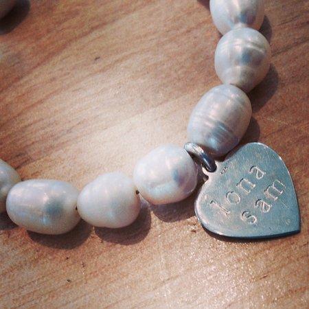Balfron, UK: Handmade, personalised bracelet