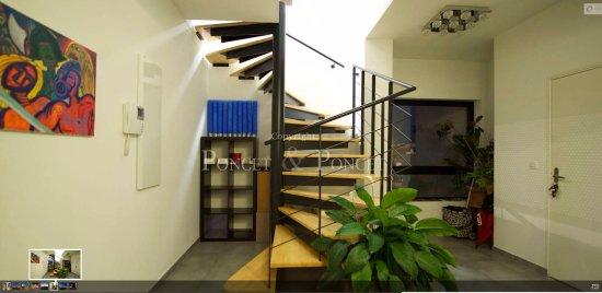 Chambre style villa sur toit Port Marianne: Vue de l'entrée