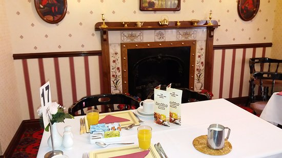 Appleby Magna, UK: Breakfast