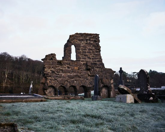 Donegal Town, Ireland: Remains of the Abbey