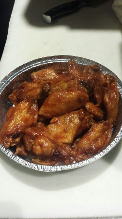 Fort Lee, Νιού Τζέρσεϊ: BBQ chicken wings