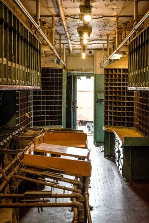 Green Bay, WI: Inside the mail car