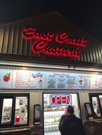 East coast custard