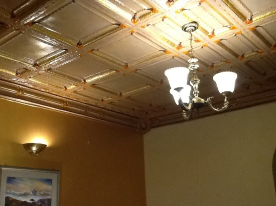 Hotel Shanker: Beautifully crafted ceiling
