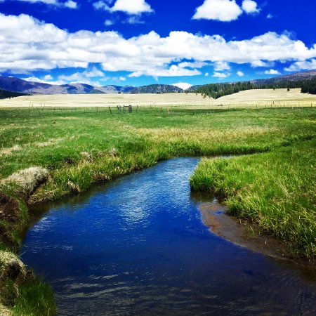 Velarde, NM: San Antonio Creek in Valles Caldera
