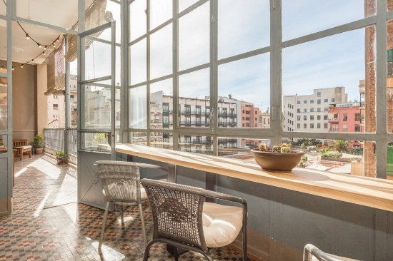 Stay In BCN Suites: Terraza