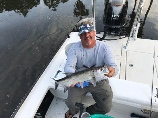 Ponte Vedra Beach, Floride : Baby tarpon can be a blast on lite tackle