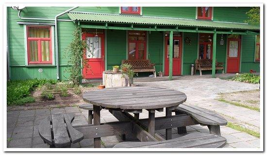 Ventspils, Latvia: achterterras