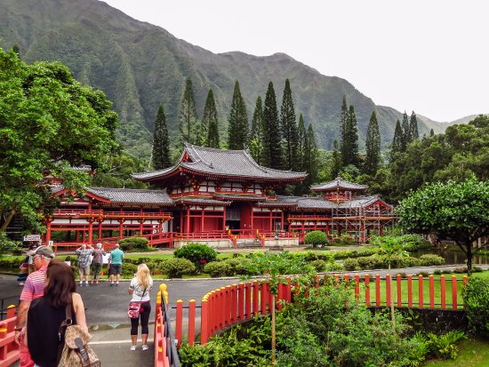 Kaneohe, Гавайи: Byodo-In Temple