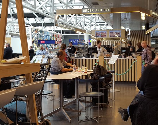 Nord Restaurant, Keflavik international airport main terminal