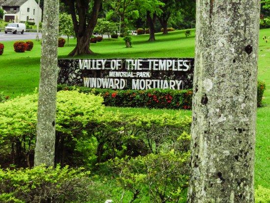 Kaneohe, Hawái: sign at entrance