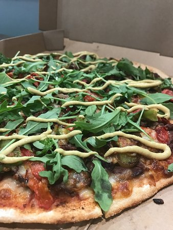 Mount Lawley, Australia: Waygu Shoga Pizza