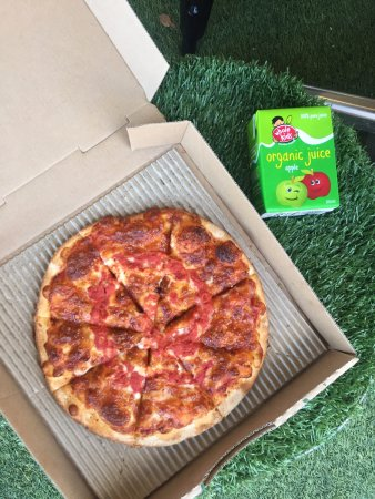 Mount Lawley, Αυστραλία: Kids Pizza and Juice