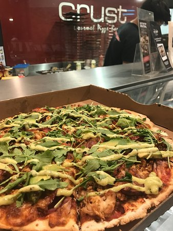 Mount Lawley, Australia: Pesto Chicken Club Pizza