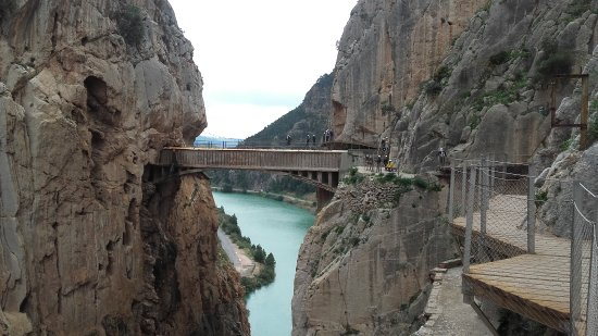El Chorro, Spain: Impresionante el Caminito del Rey