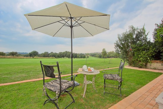 Centurion, South Africa: Views of the golf course