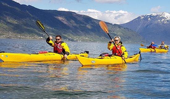 Hardanger Fjord, Norway: kayak