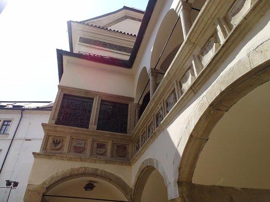 Brno, República Checa: Courtyard