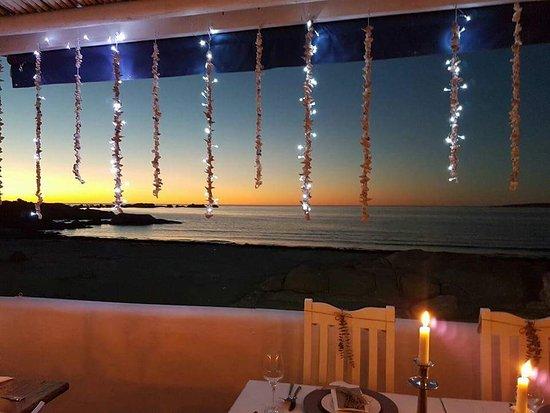 Gaaitjie Restaurant: Romantic setting for small intimate dinners