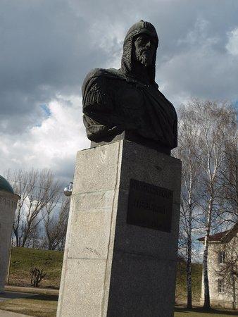 Переславль-Залесский, Россия: памятник-бюст А.Невскому