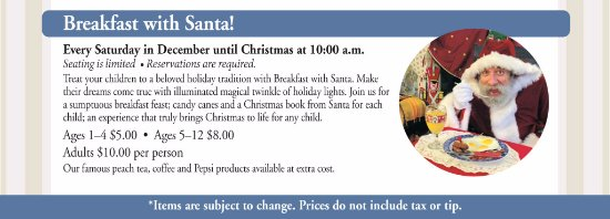 Monticello, FL: Breakfast with Santa