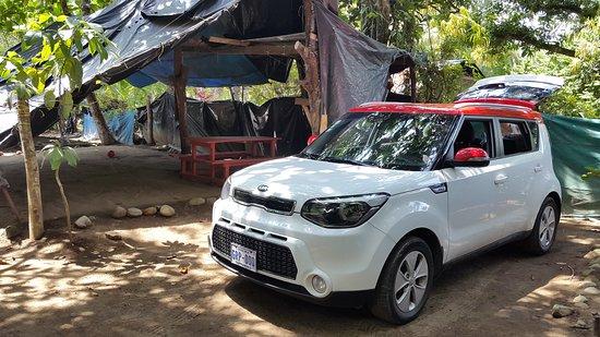 Uvita, Costa Rica: camping el chaman