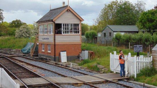 Buckfastleigh, UK: totnes signal box