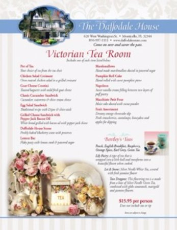 Monticello, FL: Victorian Tea Room