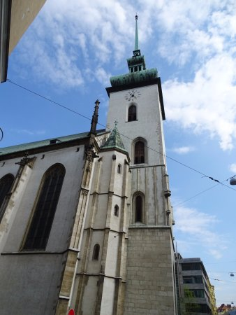St. Jacob's Church: The church