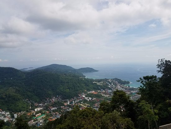 Chalong, Thailand: Lookout point great for photos