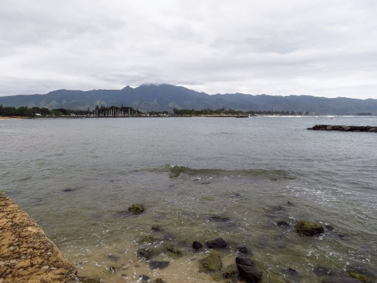 Laniakea Beach: view