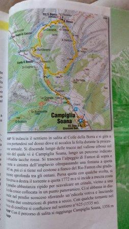 Valprato Soana, Italy: il percorso