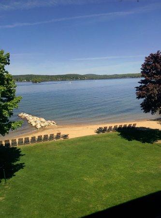 Лакония, Нью-Гэмпшир: View from a lake-view room.