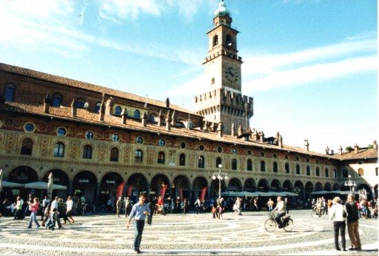 Piazza Ducale - Vigevano.