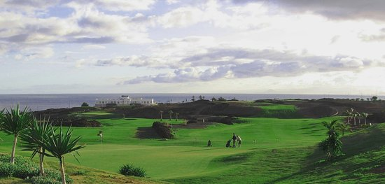 Lanzarote Golf Resort : Green hole 13